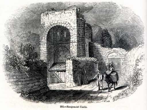Rougemont_Castle,_1845