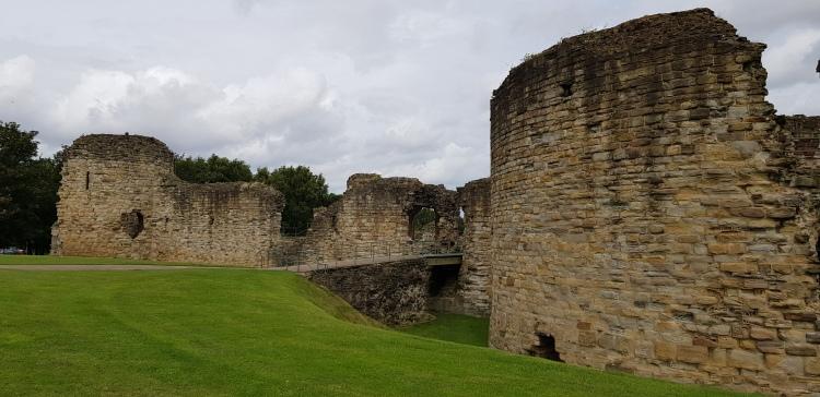 Flint Castle - front