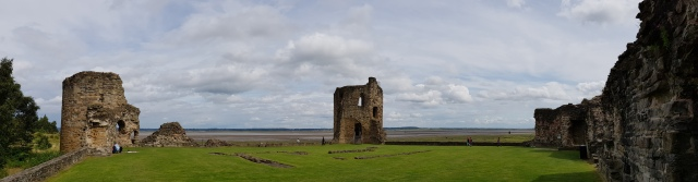 Flint Castle - north-west - north-east - and round tower